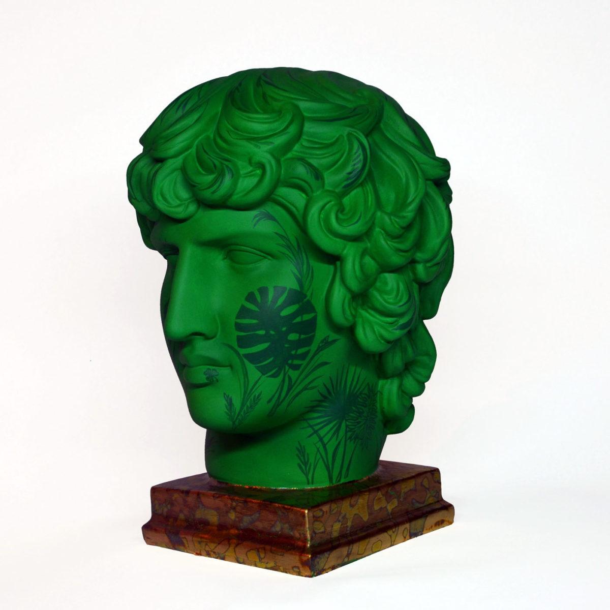 ручная роспись скульптура