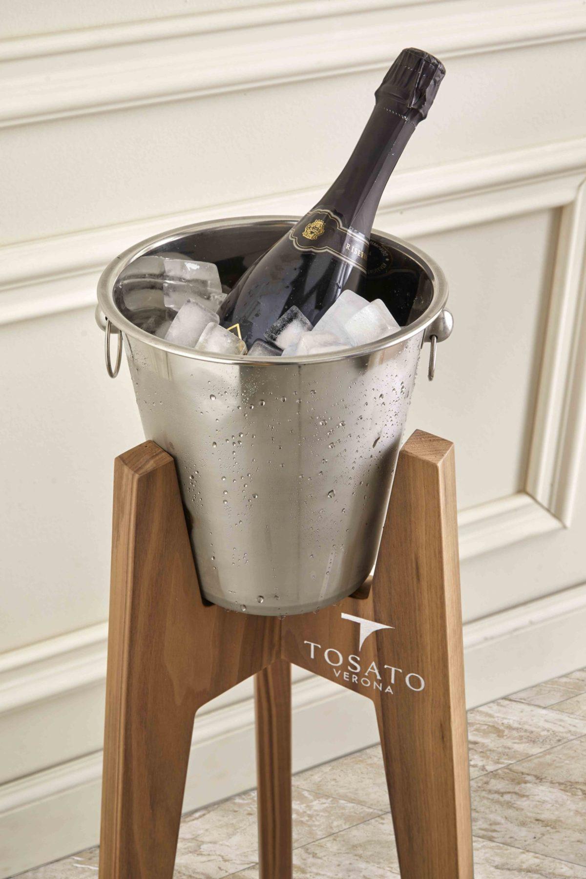 ведро для льда шампанница tosato