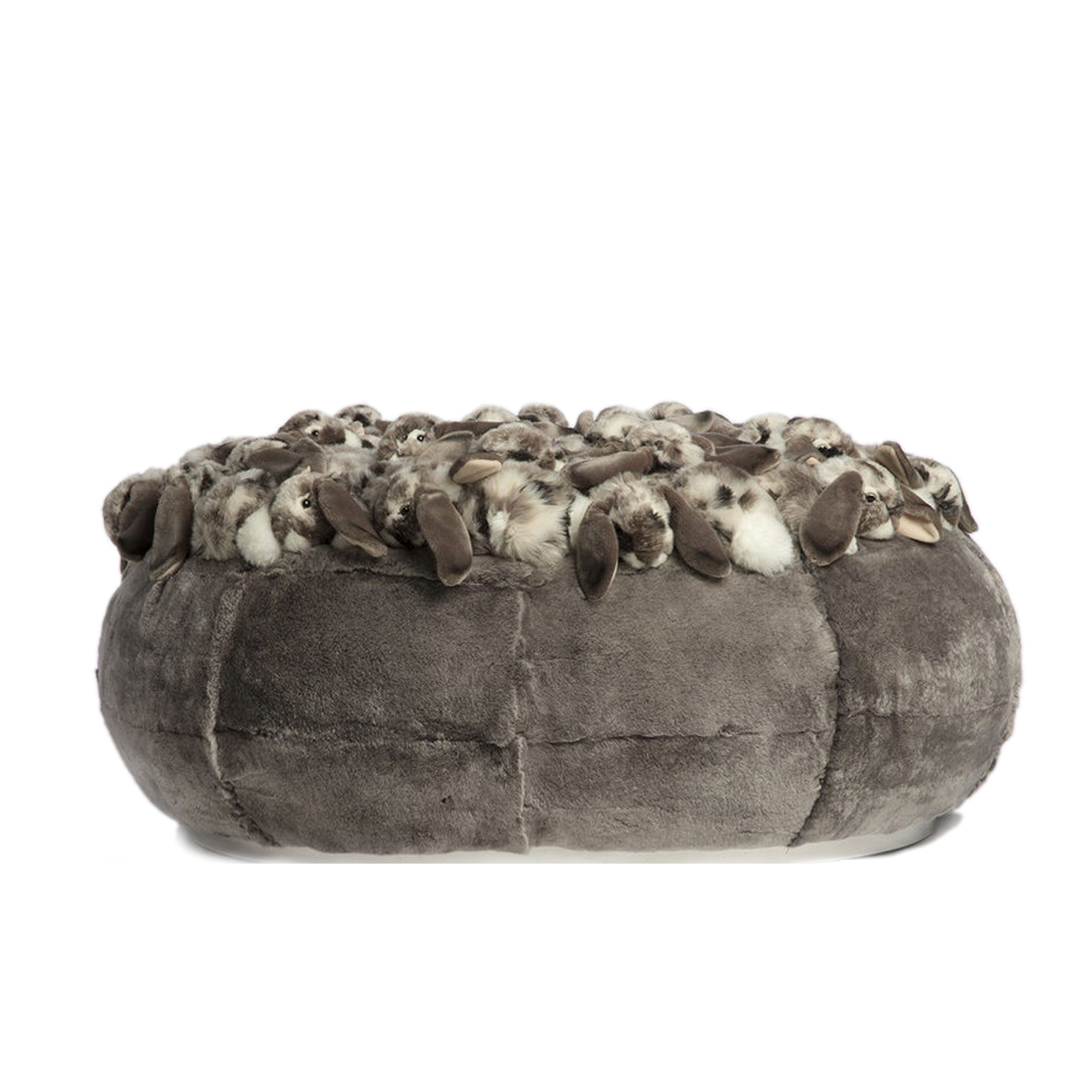 AP Collection POUF REX FLUFFLY BALL