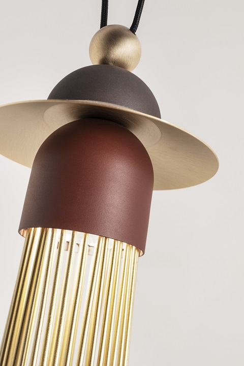 подвесной светильник nappe c3 masiero