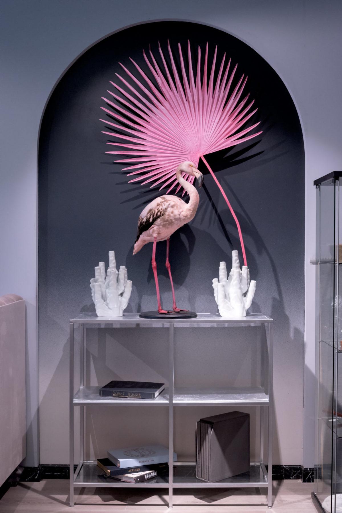 купить Чучело фламинго