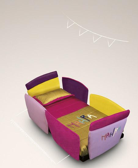 купить детскую кровать Aurora baby letto il loft