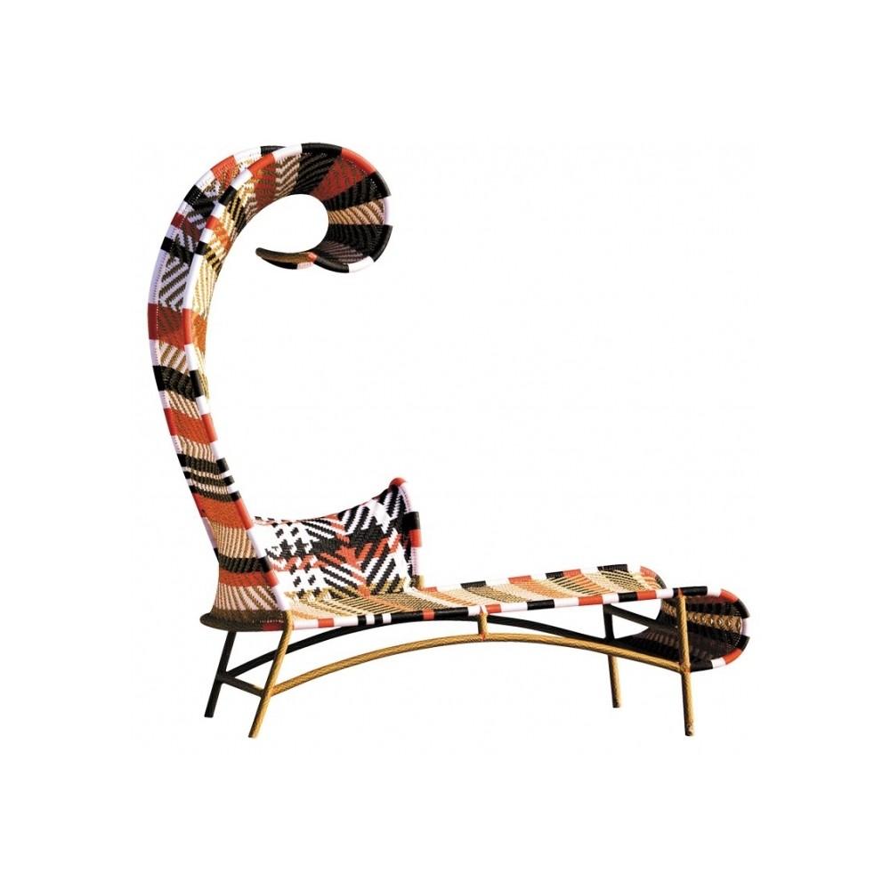 купить Shadowy chaise longue moroso