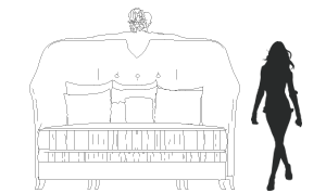 кровать FORBIDDEN koket