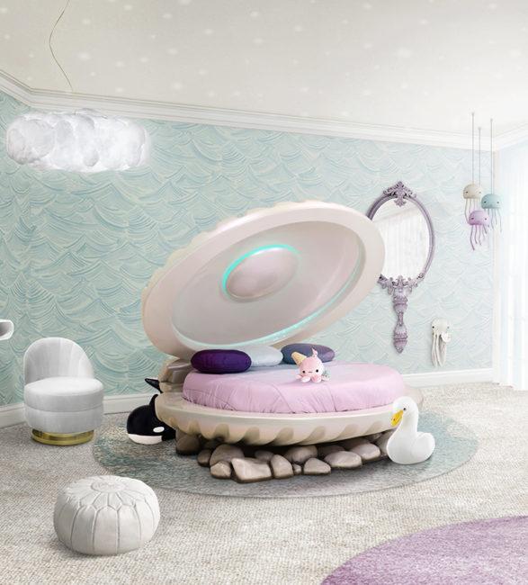 кровать LITTLE MERMAID Circu