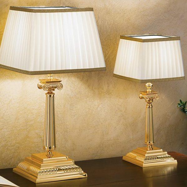 настольная лампа BRASS & SPOTS masiero