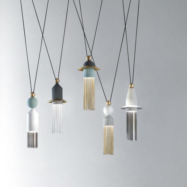 подвесной светильник nappe c5 masiero