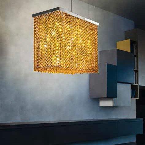 подвесной светильник CUBO masiero