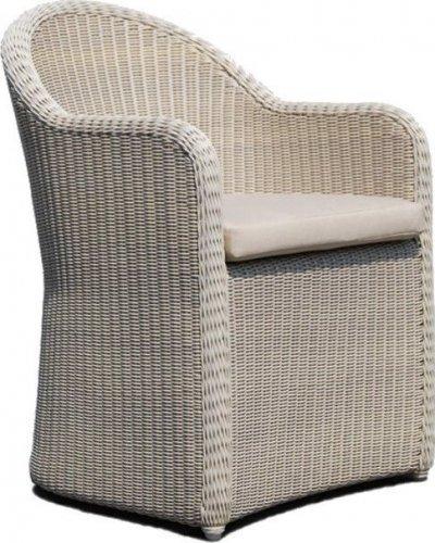 Кресло плетеное с подушкой Calderan skyline