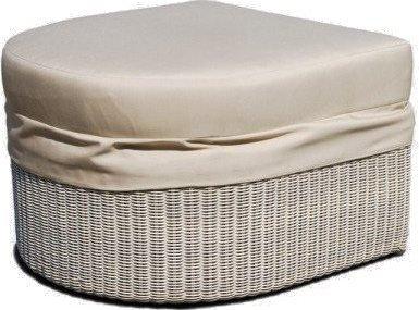 Банкетка плетеная с подушкой Calderan