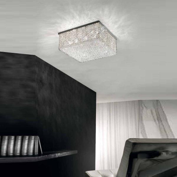 потолочный светильник cubo CUBO PL/SQUARE/LARGE masiero
