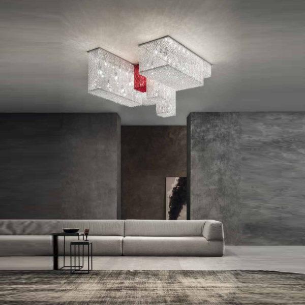 подвесной светильник CUBO PL/COMBO 175 masiero