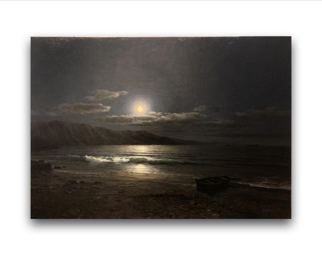 Картина Лунная ночь Сергей Бровкин